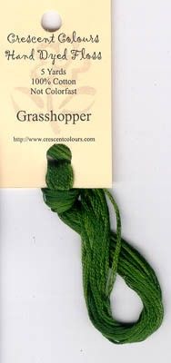 Grasshopper Classic Colorworks Cotton Floss 5yd skein #191