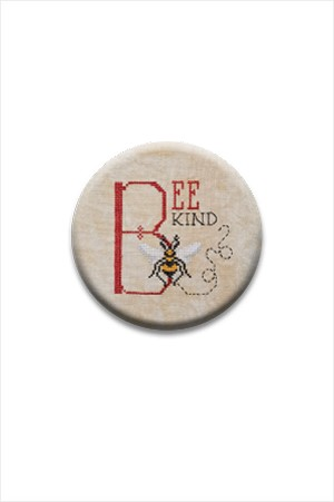 Bee Kind Needle Nanny by The Blackberry Rabbit Needle Minder