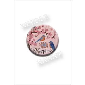 Bluebird of Happiness Needle Nanny by Cottage Garden Samplings