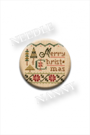 Merry Christmas Needle Nanny by Lizzie Kate