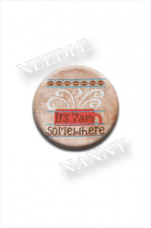 It's 7 AM Somewhere Needle Nanny by Hands On Design, Coffee Needle Minder