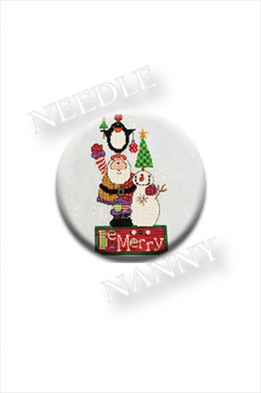Be Merry Christmas Needle Nanny by Amy Bruecken Designs