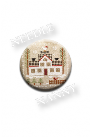 Farmhouse Christmas - Cock-a-doodle-doo Needle Nanny by Little House Needleworks