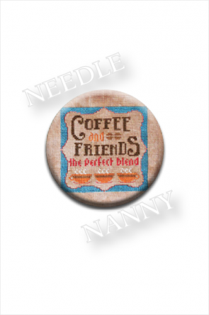 Coffee and Friends The Perfect Brew Needle Nanny by Hands On Design