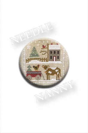Farmhouse Christmas -Dairy Darlin' Needle Nanny by Little House Needleworks