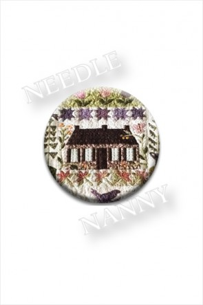 Welcome Home 3 Needle Nanny by Blackbird Designs Sampler Needle Minder