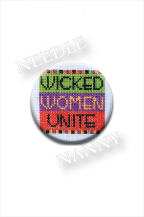 Wicked Women Needle Nanny by Amy Bruecken Designs Halloween Needle Minder