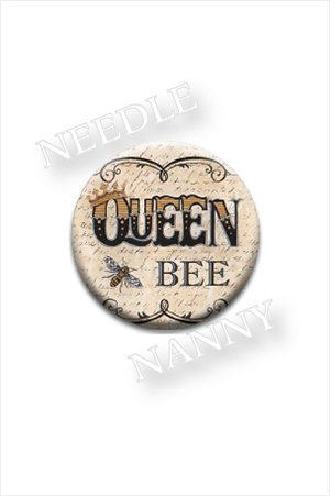 Queen Bee Needle Nanny by Deb Strain Needle Minder
