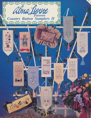 Country Button Samplers II - (Cross Stitch)