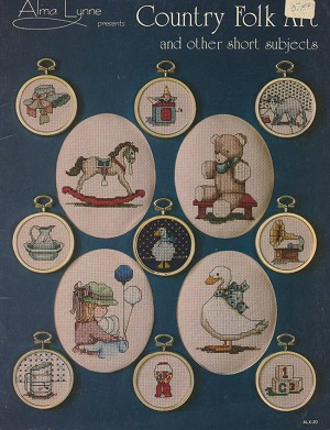 Country Folk Art and other short subjects - (Cross Stitch)