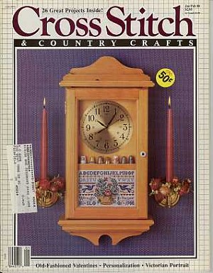 January/February 1988 Magazine - (Cross Stitch)