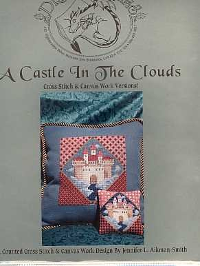A Castle In the Clouds - (Cross Stitch)