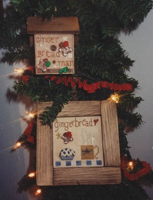 Gingerbread Bakery - (Cross Stitch)