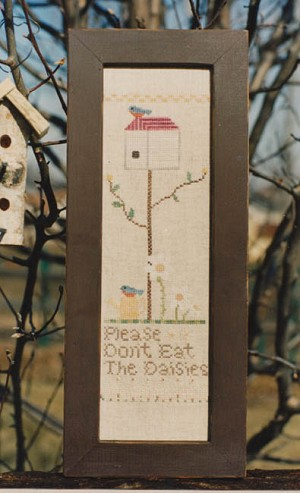 Don't Eat the Daisies - (Cross Stitch)