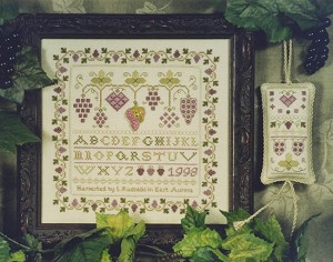 Grape Expectations - (Cross Stitch)