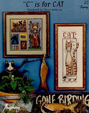 C is for Cat - (Cross Stitch)