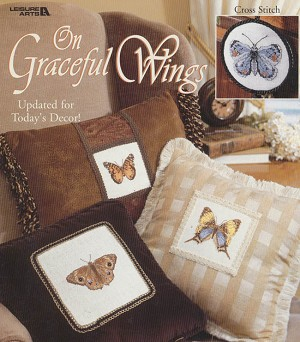 On Graceful Wings - (Cross Stitch)