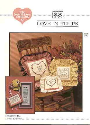 Love 'N Tulips - (Cross Stitch)