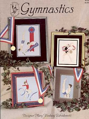 Gymnastics - (Cross Stitch)