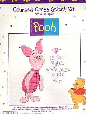 P is for Piglet