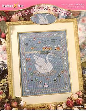 Medieval Swan Tapestry - (Cross Stitch)