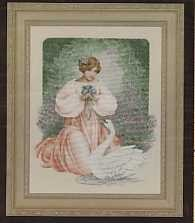 Lady Claire - (Cross Stitch)