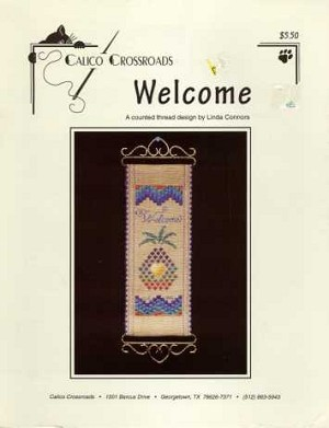 Welcome - (Cross Stitch)