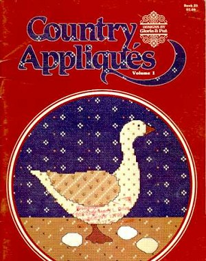 Country Appliques Volume 1 - (Cross Stitch)