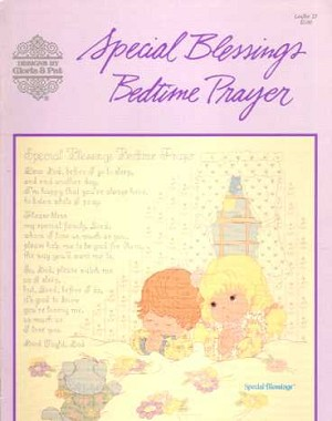 Special Blessings Bedtime Prayer - (Cross Stitch)