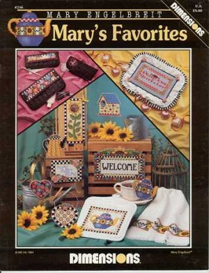 Mary's Favorites - (Cross Stitch)