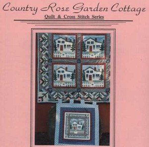 Country Rose Garden Cottage - (Cross Stitch)