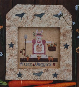 Mrs. Farmer Hare - (Cross Stitch)