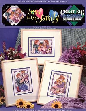 Love Makes a Family - (Cross Stitch)