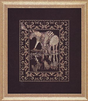 Safari Collection Zebra - (Cross Stitch)