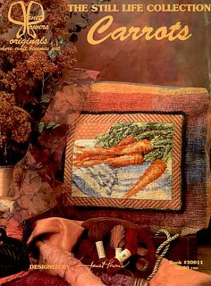 Carrots - (Cross Stitch)