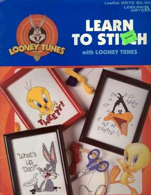 Learn to Stitch with Looney Toons - (Cross Stitch)