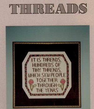 Threads - (Cross Stitch)