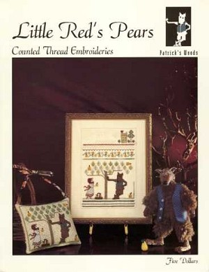Little Red's Pears - (Cross Stitch)
