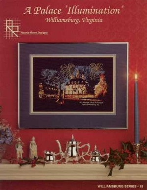 A Palace 'Illumination' - (Cross Stitch)