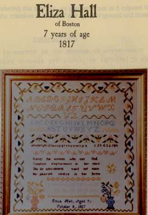 Eliza Hall Sampler - (Cross Stitch)
