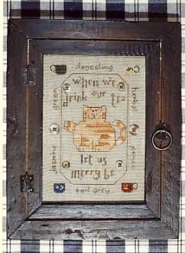 Let us Merry Be - (Cross Stitch)