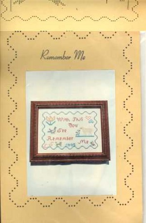 Remember Me - (Cross Stitch)