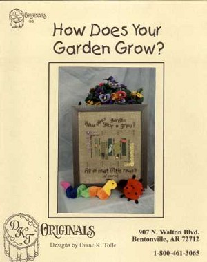 How Does Your Garden Grow? - (Cross Stitch)