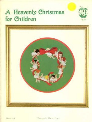 A Heavenly Christmas for Children - (Cross Stitch)