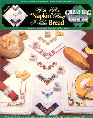 With this 'Napkin' Ring I thee Bread