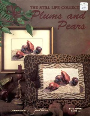 Plums and Pears - (Cross Stitch)