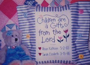 Children are a Gift - (Cross Stitch)
