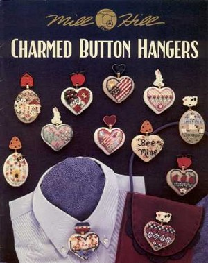 Charmed Button Hangers - (Cross Stitch)