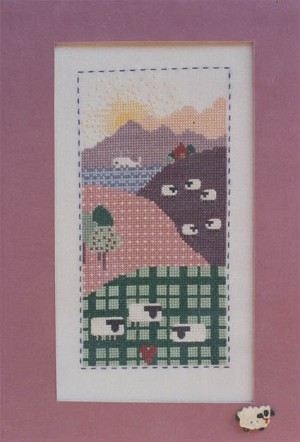Country Meadow - (Cross Stitch)