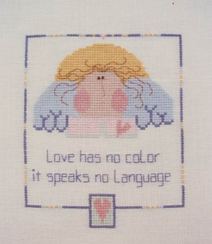 Love Has - (Cross Stitch)